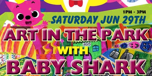 Baby Shark Paint Party At Sharon Woods Metro Park