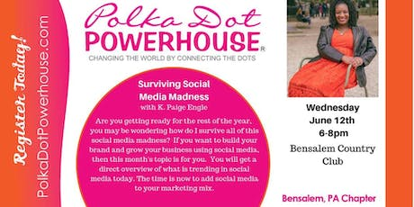 Polka Dot Powerhouse Professional Women's Networking/Connection Group (Lower Bucks) Bensalem tickets