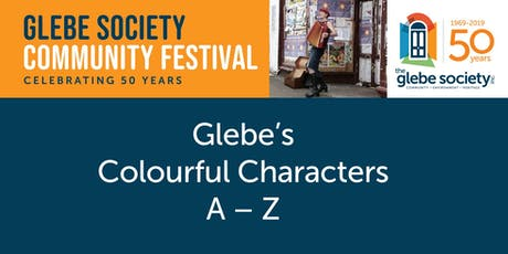 Glebe's Colourful Characters tickets