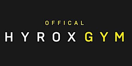 HYROX workout tickets