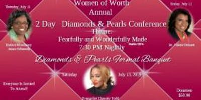 "Women of Worth 'Diamonds & Pearls"" Conference & Banquet"