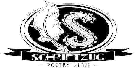 SchriftZug  Poetry Slam Tickets