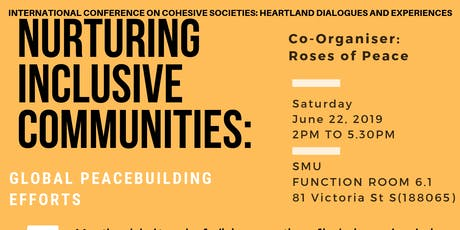 Heartland Dialogues and Experiences: Global Peacebuilding Efforts tickets