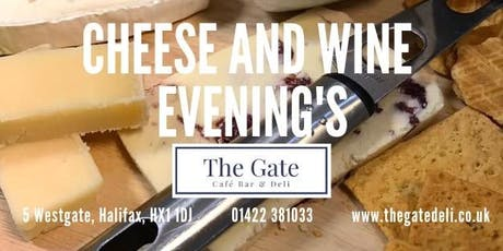 The Gate - Cheese and Wine tickets
