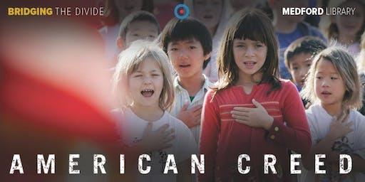 FREE Film & Conversation: American Creed