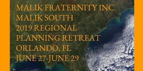2019 MALIK South Planning Retreat Orlando tickets