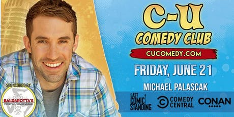 Comedian Michael Palascak (NBC, Leno, Letterman, Colbert, Comedy Central) in Champaign tickets