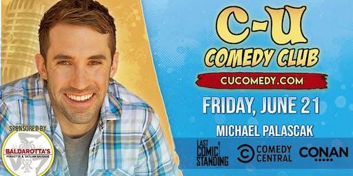 Comedian Michael Palascak (NBC, Leno, Letterman, Colbert, Comedy Central) in Champaign