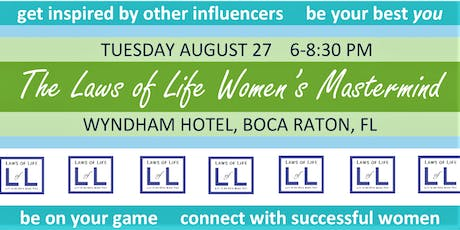 The Laws of Life Women's Mastermind tickets