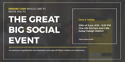 Denarii Cash - The Great Big Social Event