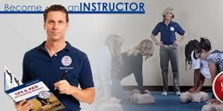CPR Instructor Training tickets