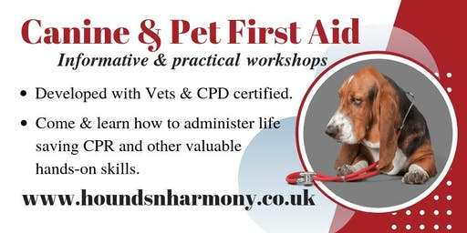 Canine & Pet First Aid Workshop