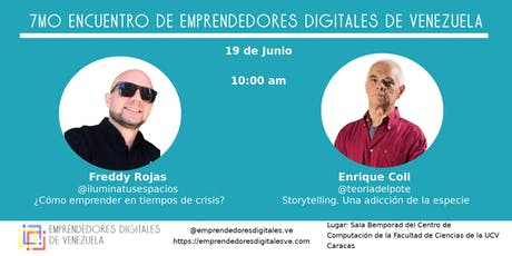 7mo Encuentro de Emprendedores Digitales de Venezuela tickets