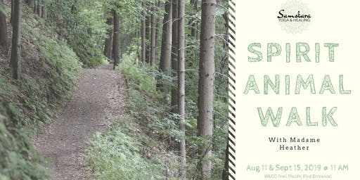 Spirit Animal Walk with Madame Heather | Connect with Nature on the W&OD
