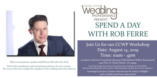 CCWP Workshop - Spend A Day With Rob Ferre
