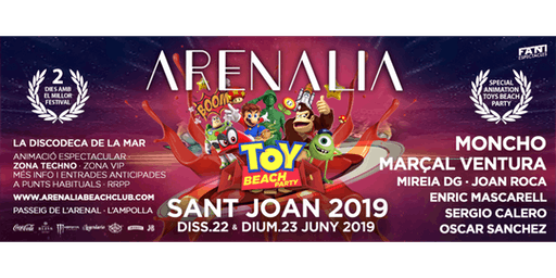 SANT JOAN 2019 & BEACH TOYS PARTY