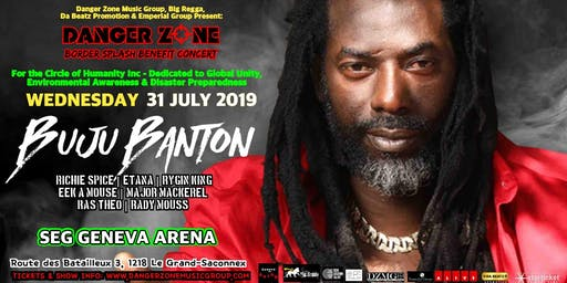 BUJU BANTON LIVE ON STAGE IN SWITZERLAND AT SEG GENEVA ARENA