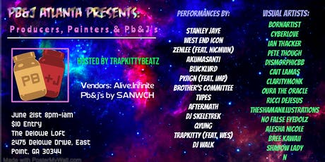 PB&J Atlanta Presents: Producers, Painters  PB&Js tickets