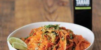 Taste of Asia w/ Black Garlic Tamari Balsamic & R