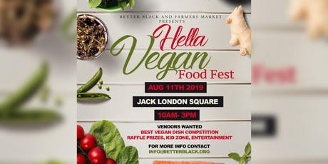 Hella Vegan Food Fest tickets