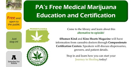 FREE Medical Marijuana Education and Certification Series tickets