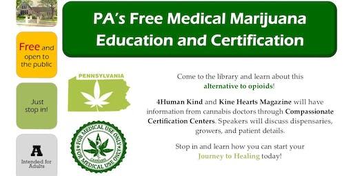 FREE Medical Marijuana Education and Certification Series