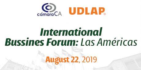 International Business Forum : Las Americas  tickets