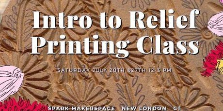 Intro to Relief Printing (lino) tickets