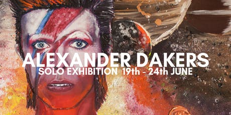Alexander Dakers Solo Exhibition  tickets