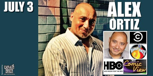 Comedian Alex Ortiz Live in Naples, Florida at Off the hook comedy club