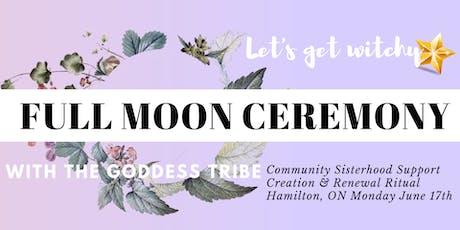 Goddess Tribe Full Moon Ceremony tickets