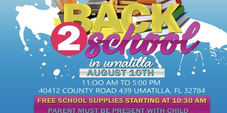 BACK 2 SCHOOL BASH IN UMATILLA. BACK 2 SCHOOL BASH IN UMATILLA. BACK 2 SCHOOL BASH IN UMATILLA. tickets