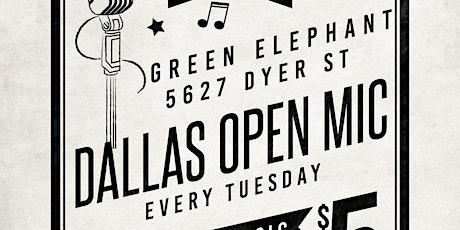 Dallas Open Mic tickets