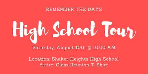 SHHS Class of 2009 Reunion - Official High School Tour
