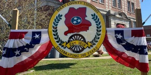 Perry County TN Bicentennial Festival Arts & Craft Vendor Registration