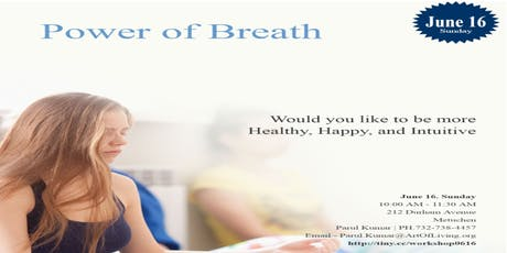 Power of Breath an Introduction to Art of Living Happiness Program tickets