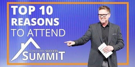 Tom Ferry Success Summit 2019 - Day 2 tickets