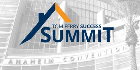 Tom Ferry Success Summit 2019 - Day 3 tickets