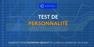 Test de personnalité : Oxford Capacity Analysis
