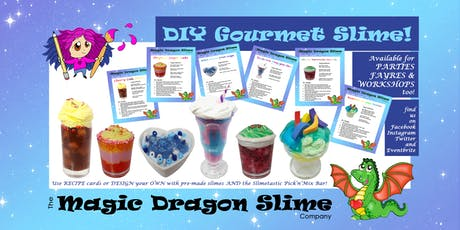 Gourmet Slime Workshop with Magic Dragon Slime @ YourSpace.Sutton tickets