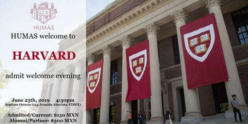 Welcome to Harvard! - Admit Welcome Evening @ Mexico City