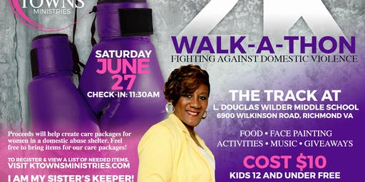 KTMinistries 2K Walkathon - Fighting Domestic Violence