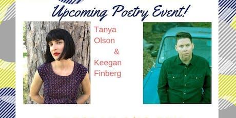 Poetry Event: Tanya Olson & Keegan Finberg tickets