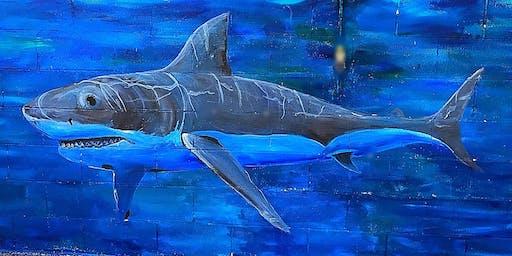 Shark Week at the Texas Pool
