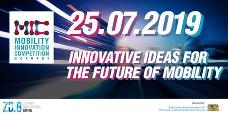 Abschlussveranstaltung - Mobility Innovation Competition@Campus 2019 tickets
