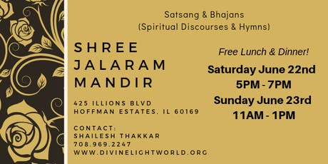 Spiritual Discourses tickets