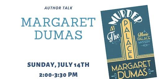 Author Talk: Margaret Dumas