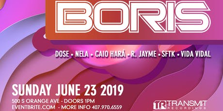 Deep Therapy Pool Party | BORIS LIVE - 06.23.19 tickets