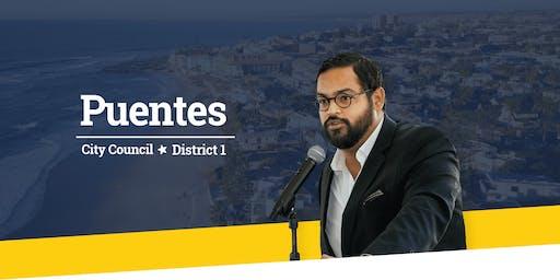 "Harid ""H."" Puentes for San Diego City Council District 1 Campaign Kick-off"