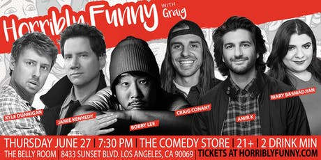 Horribly Funny - Bobby Lee, Jamie Kennedy, Kyle Dunnigan, Amir K tickets